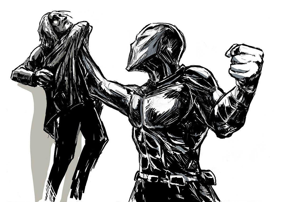 Concept art do filmu Rendel
