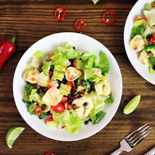 Skinny Southwest Tortellini Pasta Salad.