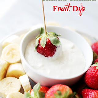 Cream Cheese Fruit Dip Without Marshmallow Cream Recipes.