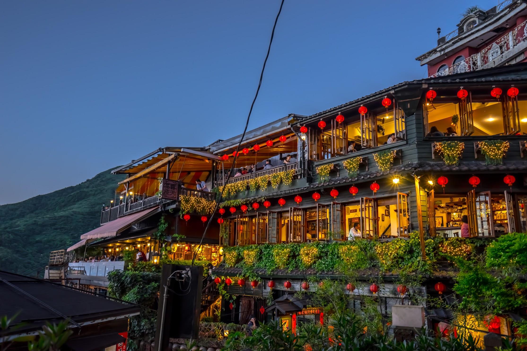 Jiufen A Mei Tea House3