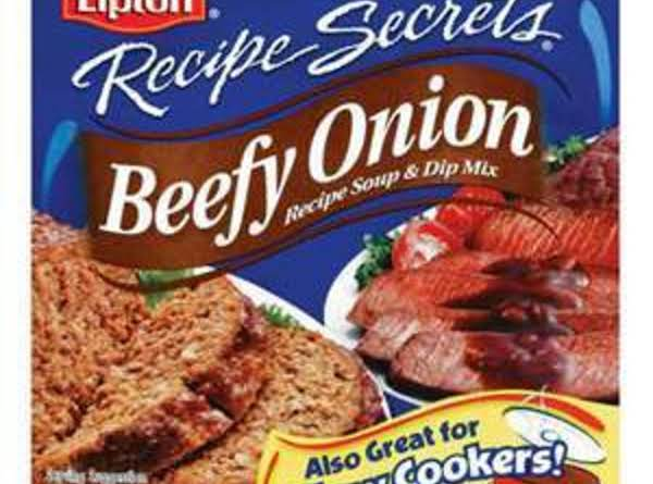 Beefy-minced Onion Soup Mix