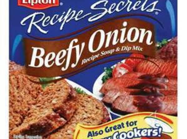 Beefy-minced Onion Soup Mix