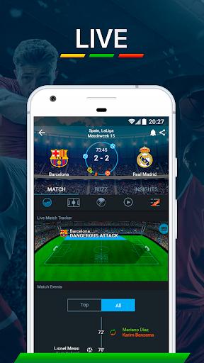 365Scores - Live Scores & Soccer News 6.6.6 screenshots 2