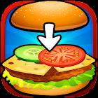 Baby kitchen game Burger Chef icon