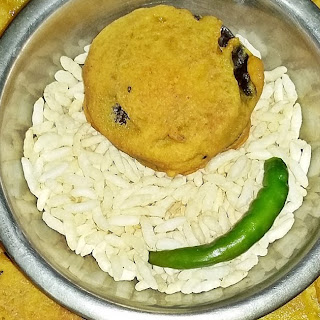 Beguni - Baingan Pakora - Bengali eggplant fritters