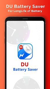 DU Battery Saver MOD Apk 4.9.0.1 (Unlocked) 1