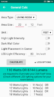 Led Light Requirement Calculator برنامه ها در Google Play