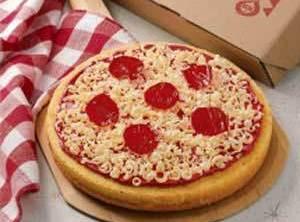 April Fools:  Pizza Cake Recipe