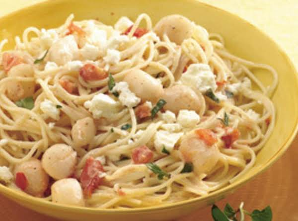Scallop And Herb Pasta