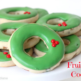 Fruitcake Cut Out Cookies