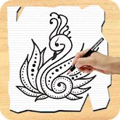 How To Draw Henna Tattoo
