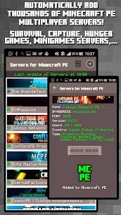 Servers for Minecraft PE 1