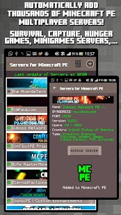 Servers for Minecraft PE- screenshot thumbnail