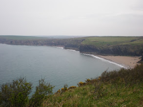 Photo: From Marloes Sands to Broad Haven (Musselwick Sands)