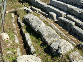Photo: Byllis, End of the Stadion 3rd century BC