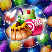 Food Burst : Super Refreshing Match 3 Food Puzzle