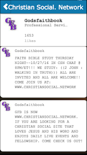 Christian Social. Network- screenshot thumbnail
