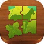 Safari Puzzle: Wild Animal Icon
