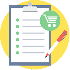 My Shopping List, Notes, to-do list icon
