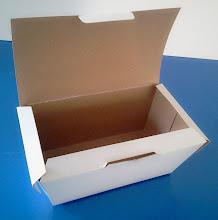 Photo: Caixa protótipo (22) para alimentos (visão 2 - detalhes na abertura). SPP-345