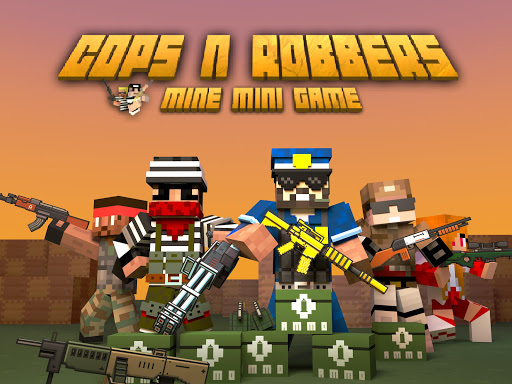 Cops N Robbers - FPS Mini Game  gameplay | by HackJr.Pw 17