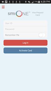smiONE Texas Visa Prepaid Card screenshot 0
