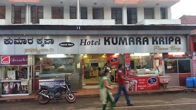 Photo: Had our breakfast @ Hotel Kumara Kripa - Hot Idli-Vada & Buns!