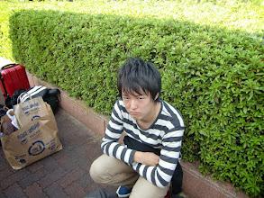 Photo: 秋宿始まりましたネーって言いたかったけどこの挑戦的な顔に阻まれる。