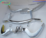 Mercedes 300SL bumper in stainless steel (1957-1963)