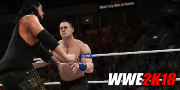 Guide: WWE 2k18 GAME - náhled