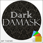 Xperien Theme Dark Damask