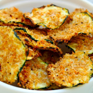 Oven Baked Zucchini Chips.