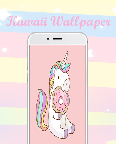 cute wallpapers and backgrounds ❤ Kawaii images Android App Screenshot