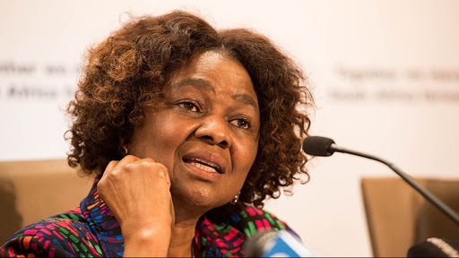 Professor Hlengiwe Mkhize, chairperson of Parliament's Portfolio Committee on Communications.