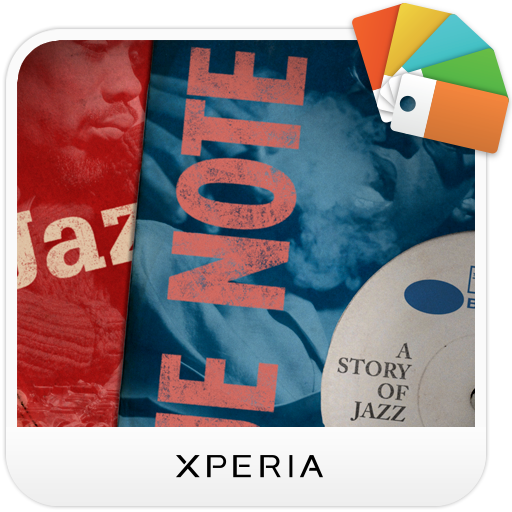 XPERIA™ Blue Note Story Theme 個人化 App LOGO-APP試玩