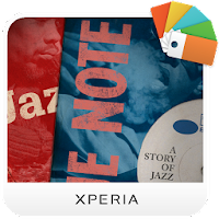 XPERIA™ Blue Note Story Theme