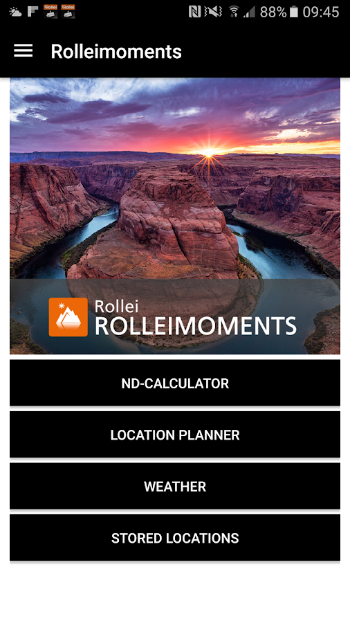 ROLLEIMOMENTS Photo App- screenshot