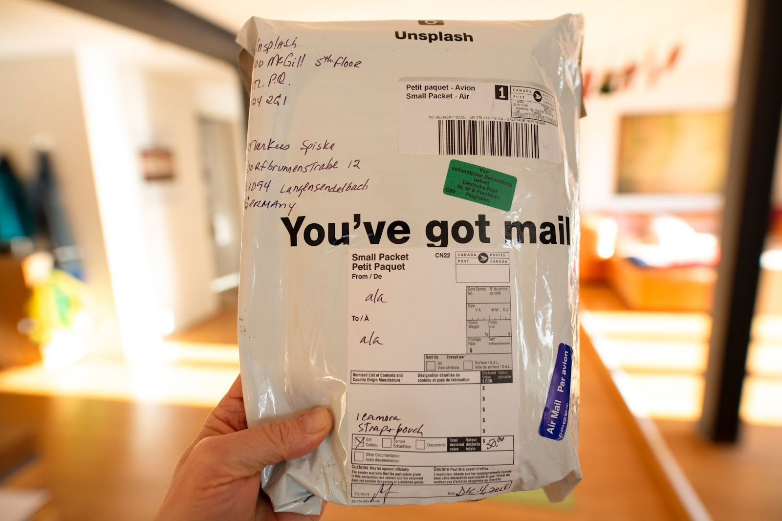 Insuring a Package