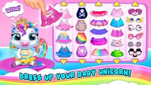 My Baby Unicorn 2 - New Virtual Pony Pet apkdebit screenshots 3