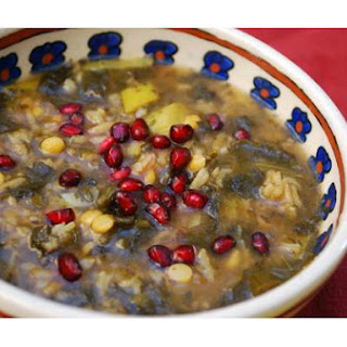 Pomegranate Soup (Ash-E Anar)