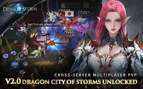 Dragon Storm Fantasy Mod Apk 2.8.0 (Menu Mod + Dumb Enemy) 2