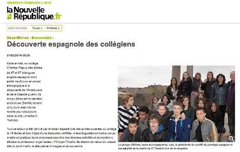 Photo: 2014-02-21 NR Découverte espagnole des collégiens