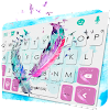 Dreamy Feathers Keyboard Theme
