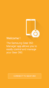 Samsung Gear 360 Manager Screenshot