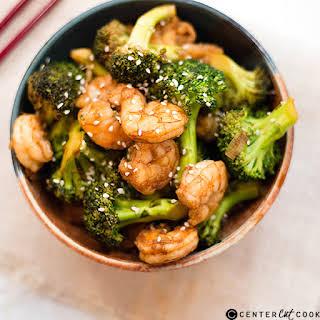 Shrimp and Broccoli Stir Fry.