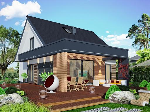 Projekty Domów Z Antresolą Toobapl