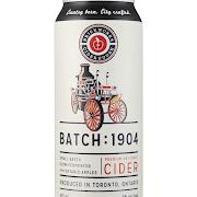 Brick Works Ciderhouse Batch:1904