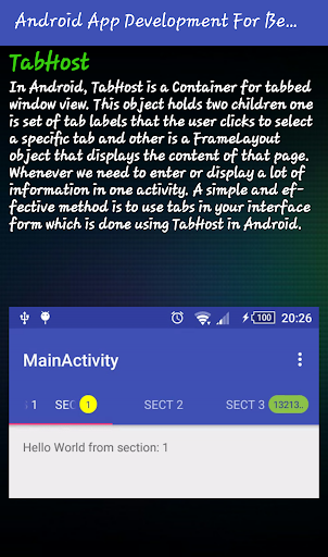 Mobile Application Development (Premium) screenshot 3