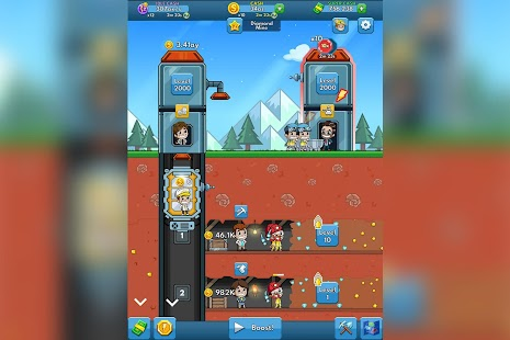 Idle Miner Tycoon Screenshot