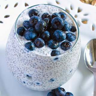 Blueberry Chia Seed Pudding Recipe